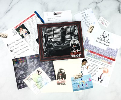 Sleuth Kings Subscription Box Review + Coupons – Case 204 MONSTER MADNESS