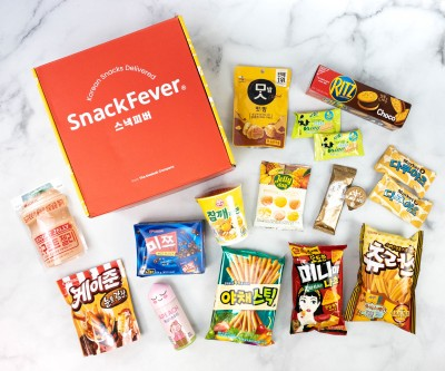 Snack Fever August 2020 Subscription Box Review + Coupon – Deluxe Box!