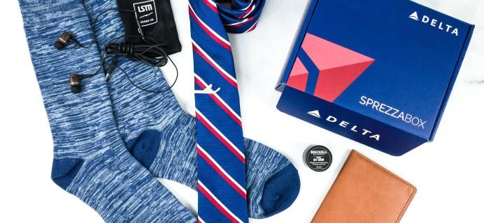 SprezzaBox October 2020 Subscription Box Review + Coupon – DELTA