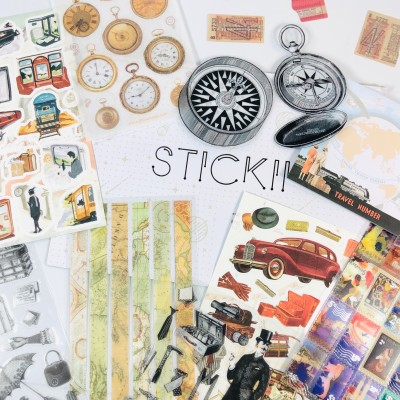 STICKII Club October 2020 Subscription Box Review – Vintage Pack!