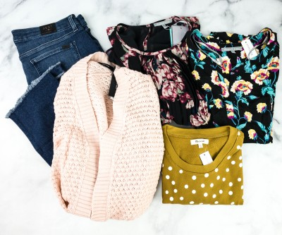 October 2020 Stitch Fix Review