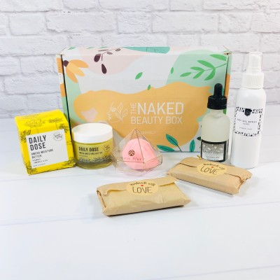 The Naked Beauty Box October 2020 Subscription Box Review + Coupon