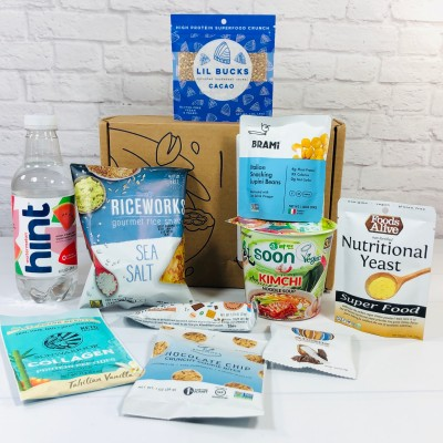 Vegancuts Snack Box October 2020 Subscription Box Review