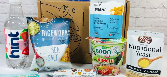 Vegancuts Snack Box October 2020 Subscription Box Review + Coupon