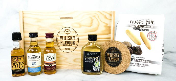 WhiskyFlavour October 2020 Subscription Box Review