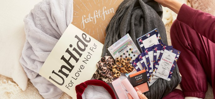 FabFitFun End of Season Sale: Get 40% Off Winter Box!