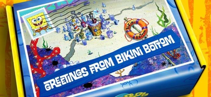 Spongebob's The Bikini Bottom Box Winter 2020 Last Call For Christmas Shipping!
