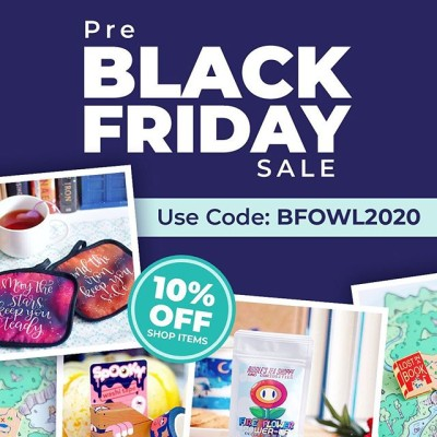 OwlCrate Pre Black Friday Sale: 10% Off in Shop!