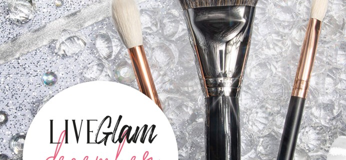LiveGlam Brush Club December 2020 Full Spoilers + Coupon!