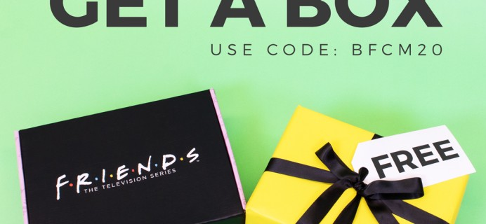 FRIENDS Subscription Box Black Friday Coupon: FREE Bonus Box With Subscription!