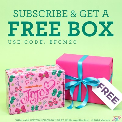 The Jojo Siwa Black Friday 2020 Coupon: FREE Bonus Box With Subscription!