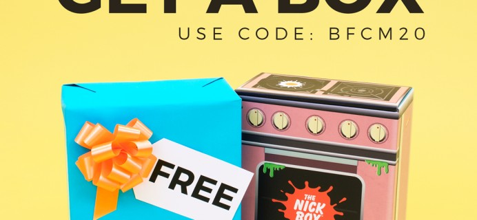 The Nick Box Black Friday 2020 Coupon: FREE Bonus Box With First Box!