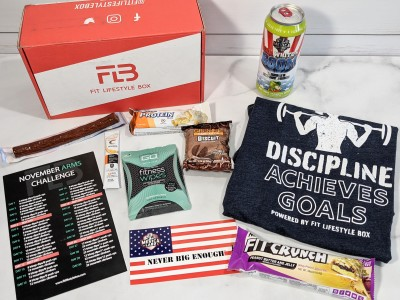 Fit Lifestyle Box Review + Coupon – November 2020