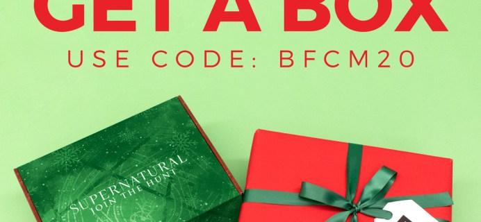 Supernatural Box Black Friday 2020 Coupon: FREE Bonus Box With Subscription!