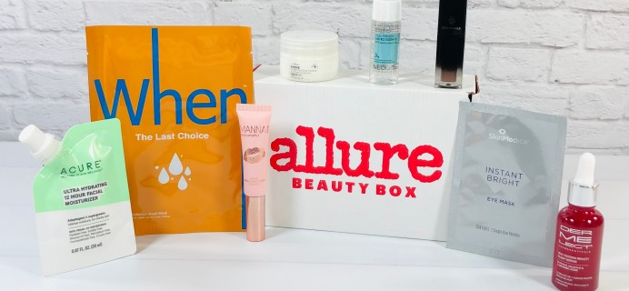 Allure Beauty Box November 2020 Review & Coupon