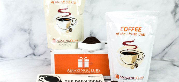 Amazing Clubs Coffee of the Month Club Review