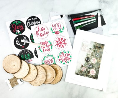 Annie's Creative Woman Kit-of-the-Month Club Review + Coupon – CHRISTMAS ORNAMENTS