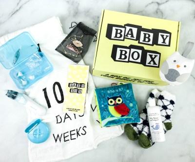 123 Baby Box November 2020 Subscription Box Review