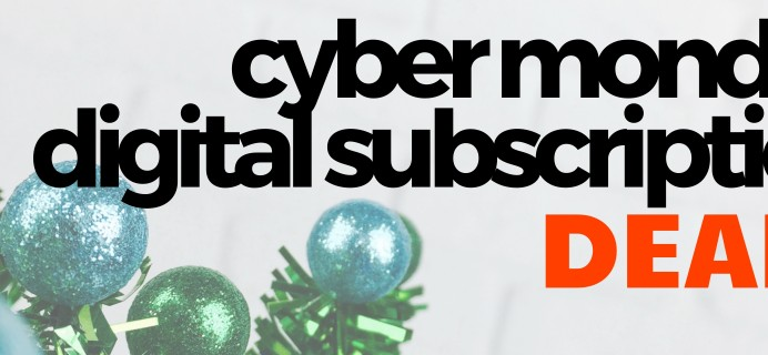 Best Cyber Monday Digital Subscription Deals