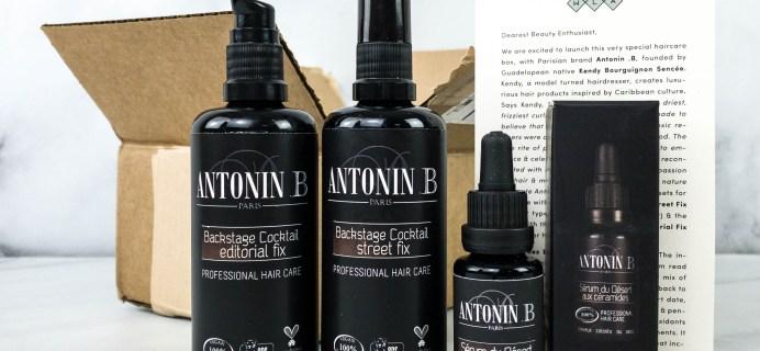 Boxwalla Antonin .B Limited Edition Box Review