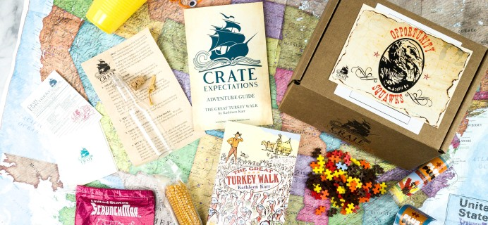 Crate Expectations Review + Coupon – November 2020 OPPORTUNITY SQUAWKS