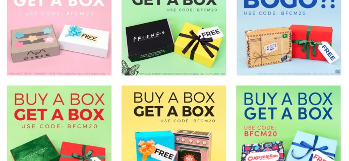 Culturefly Subscription Boxes Cyber Monday Deals: BOGO FREE & More!