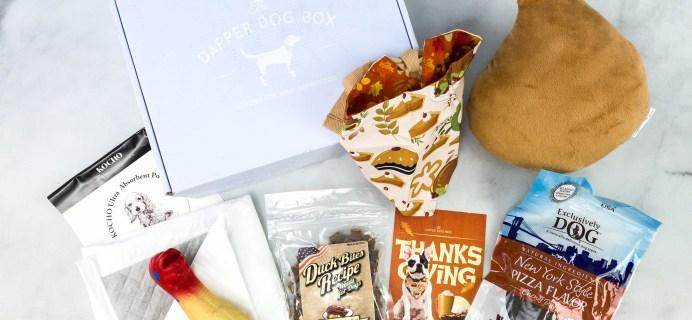 The Dapper Dog Box November 2020 Subscription Box Review + Coupon