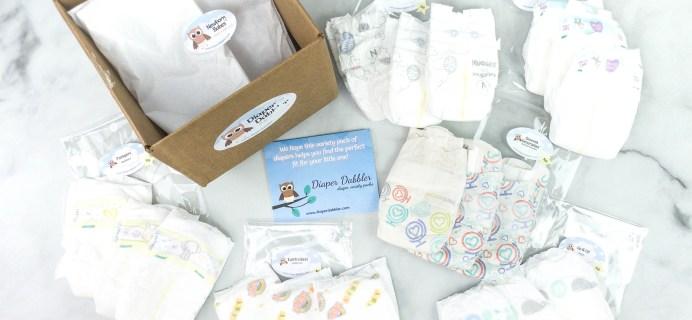 Diaper Dabbler Review – Newborn Babes Diaper Pack