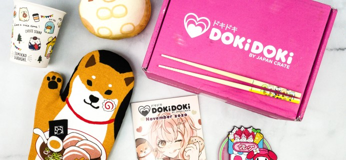 Doki Doki November 2020 Subscription Box Review & Coupon