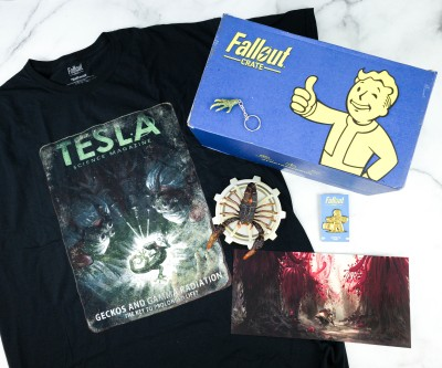 Loot Crate Fallout Crate October 2020 Review + Coupon