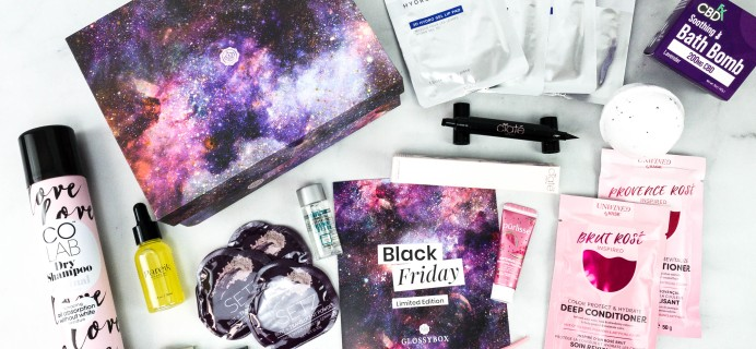 GLOSSYBOX Black Friday Limited Edition Box 2020 Review
