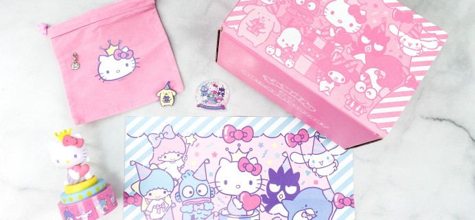 Hello Kitty and Friends Box Review  + Coupon – October 2020