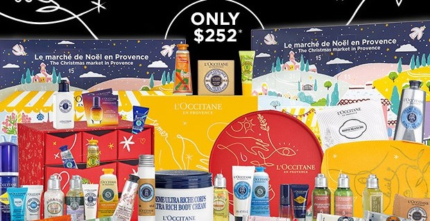 L'Occitane Black Friday Beauty Haul! BOTH Calendars + FREE Gifts – $252!