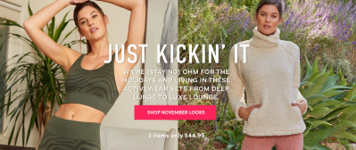 Ellie Cyber Monday Deal: Save 40% off your first month – Whole Outfit $27!