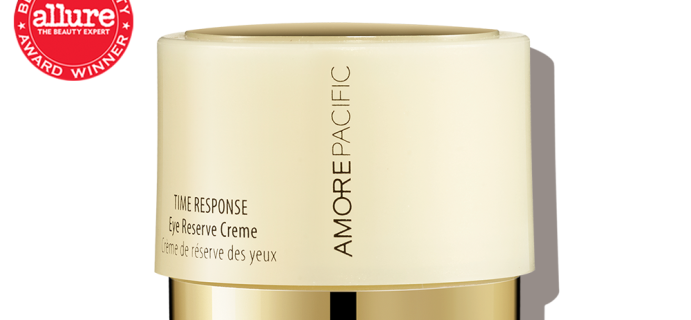 Allure Beauty Box Coupon: FREE AMOREPACIFIC Time Response Eye Reserve Creme Travel Jar!