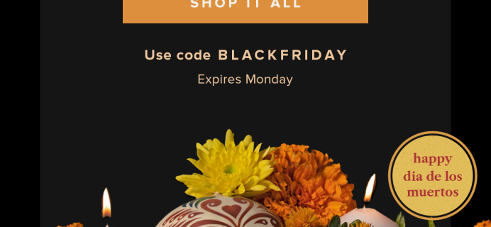 The Bouqs Early Black Friday Sale: Get 20% Off SITEWIDE!