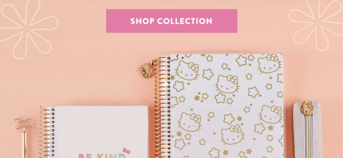 New Erin Condren x Hello Kitty Collection Available Now + Coupon!