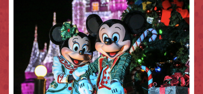 2020 Mickey Monthly Christmas Mystery Boxes Available Now!