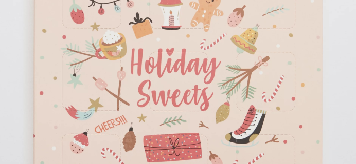 Feeling Smitten Holiday Sweets Bath Advent Calendar Available Now!