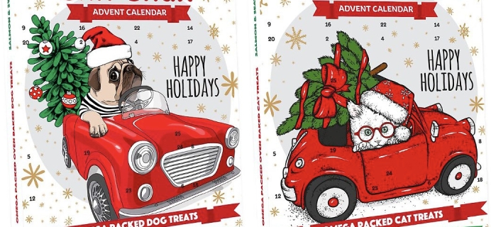 2020 Snif-Snax Pet Advent Calendars for Dogs & Cats Available Now!