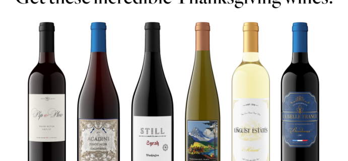 Firstleaf Wine Club Coupon: Get Thanksgiving Wine Bundle For Just $39.95 + FREE Shipping!