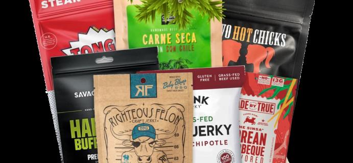 Jerky Subscription Holiday Jerky Gift Box Available Now!