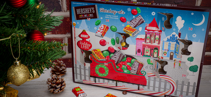 2020 HERSHEY'S Milk Chocolates Holiday Advent Calendar Available Now!