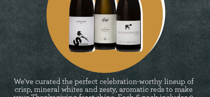 PLONK Wine Club Thanksgiving Wine 6-Pack Available Now + Coupon!
