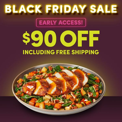 Green Chef Black Friday Sale: Save Up To $90 On Your First Five Boxes + FREE Shipping!
