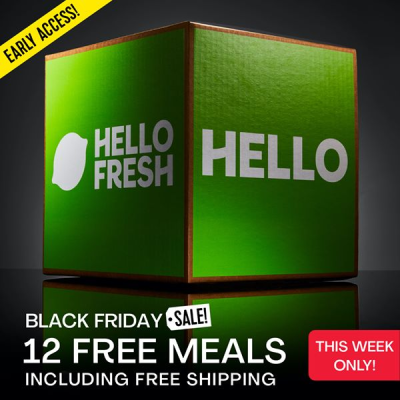 Hello Fresh Black Friday Deal: Save Up To $90 On Your First Five Boxes!