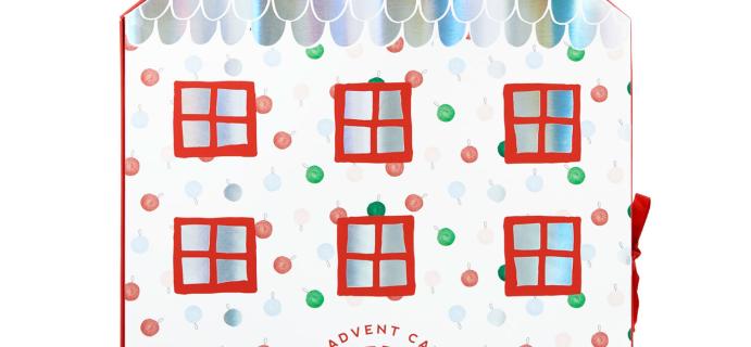 2020 KIKKI.K Eraser Advent Calendar Available Now!