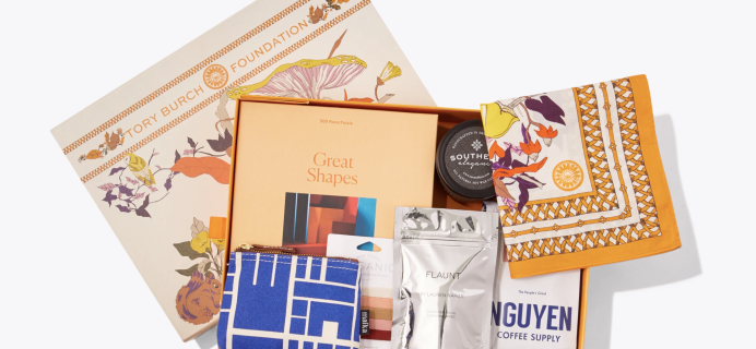 Tory Burch Foundation Seed Box Limited Edition Box Available Now!