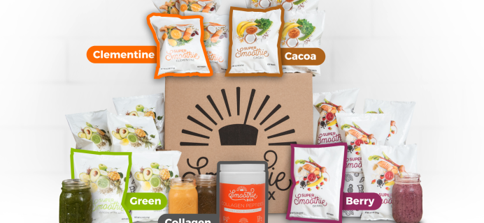 SmoothieBox New Year's Sale: Save $21 On First Box + FREE Shipping!