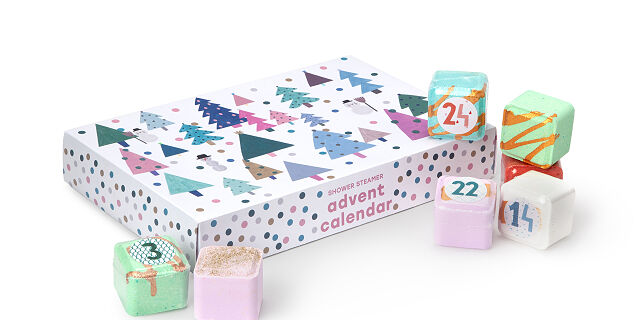 Mazzi and Erez Peled Shower Steamer Advent Calendar Available Now!